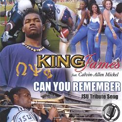 King, James - Can You Remember Jsu Tribute Song CD Cover Art