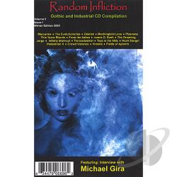 5 / A Gothic / Compilation CD / Industrial Magazine / Various Artists - Random Infliction, Vol. 2 CD Cover Art