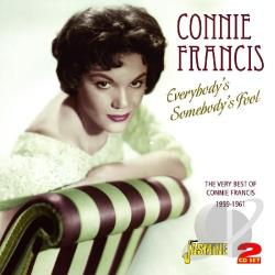 Francis, Connie - Everybody's Somebody's Fool: The Very Best of Connie Francis 1959-1961 CD Cover Art