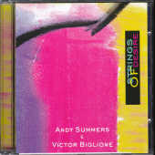 Summers, Andy/victor Biglione - Strings Of Desire CD Cover Art
