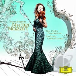 Bashmet / Lpo / Mutter, Anne-Sophie - Mozart: The Violin Concertos; Sinfonia Concertante CD Cover Art