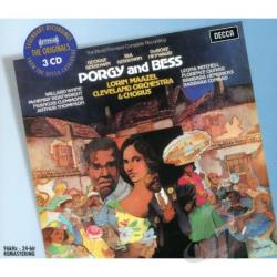 Cvoc / Gershwin / Maazel / Mitchell / White - Gershwin: Porgy & Bess CD Cover Art
