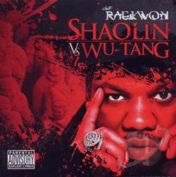 Raekwon - Shaolin vs. Wu-Tang CD Cover Art