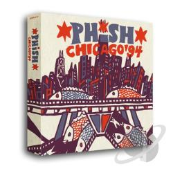 Phish - Chicago '94 CD Cover Art