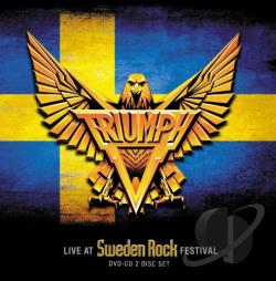 Triumph - Live At The Sweden Ro CD Cover Art