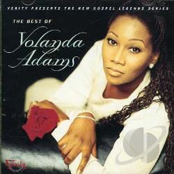 Adams, Yolanda - Best of Yolanda Adams CD Cover Art
