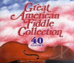 Great American Fiddle Collection CD Cover Art