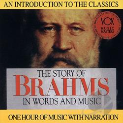 Brahms - Story of Brahms CD Cover Art