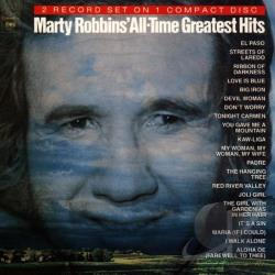 Robbins, Marty - All-Time Greatest Hits CD Cover Art
