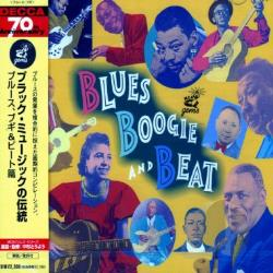 Blues Boogie & Beat CD Cover Art