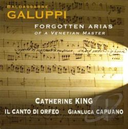 Il Canto di Or / King: mzz-sop - Galuppi: Forgotten Arias of a Venetian Master CD Cover Art
