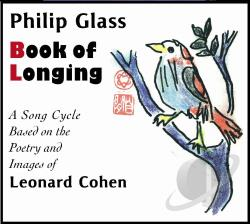 Cohen, Leonard - Philip Glass: Book of Longing CD Cover Art