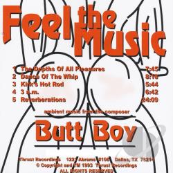 Butt Boy - Feel The Music CD Cover Art