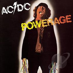 AC/DC - Powerage CD Cover Art