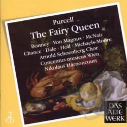 Bonney / Harnoncourt / Purcell / Vienna CM - Henry Purcell: The Fairy Queen CD Cover Art