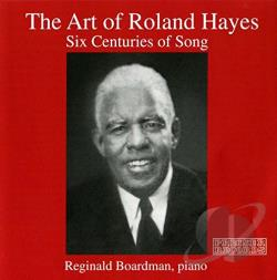 Berlioz / Debussy / Hayes - Art of Roland Hayes CD Cover Art
