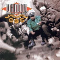 Diamond & The Psychotic Neurotics - Stunts, Blunts & Hip-Hop CD Cover Art