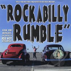 Rockabilly Rumble CD Cover Art