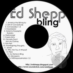 Ed Shepp - Bling CD Cover Art
