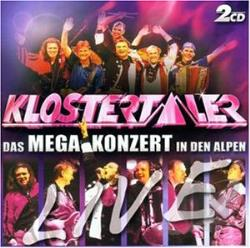 Klostertaler - Live-Das Mega-Konzert In CD Cover Art