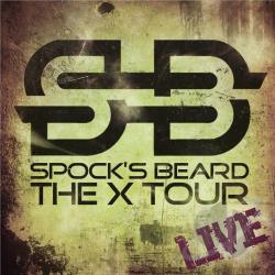 Spock's Beard - X-Tour Live CD Cover Art
