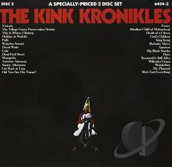 Kinks - Kink Kronikles CD Cover Art