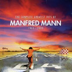 Mann, Manfred - Complete Greatest Hits of Manfred Mann CD Cover Art