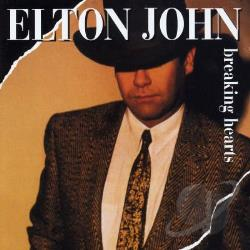 John, Elton - Breaking Hearts CD Cover Art