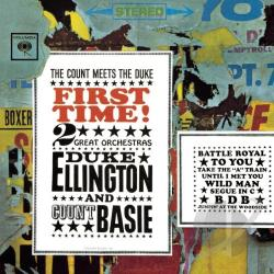 Basie, Count / Ellington, Duke - First Time! The Count Meets the Duke CD Cover Art