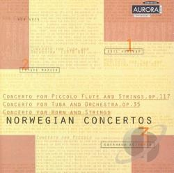 Dmitriev / Hovland / Madsen / Stavanger Sym Orch - Norwegian Concertos, Vol. 3 CD Cover Art