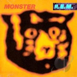 R.E.M. - Monster CS Cover Art