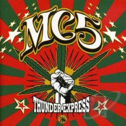 MC5 - Thunder Express CD Cover Art
