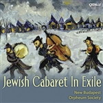 New Budapest Orpheum Society - Jewish Cabaret In Exile CD Cover Art