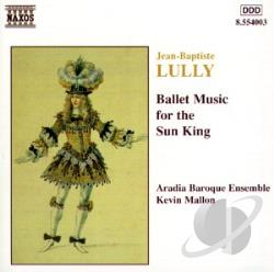 Lully - Lully: Ballet Music for the Sun King CD Cover Art