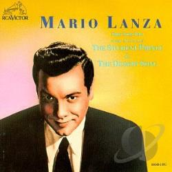 Lanza, Mario - Sings Songs from The Student Prince & The Desert Song CD Cover Art