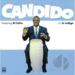 Candido / Cohn, Al - Featuring Al Cohn + In Indigo CD Cover Art