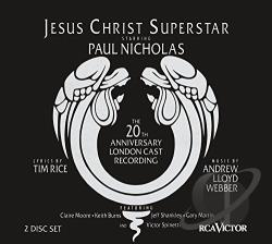 Jesus Christ Superstar CD Cover Art