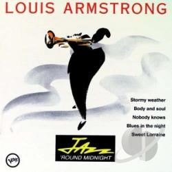 Armstrong, Louis - Jazz 'Round Midnight: Louis Armstrong CD Cover Art