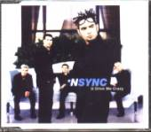 N Sync - U Drive Me Crazy CD Cover Art