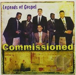 Commissioned - Legends of Gospel CD Cover Art