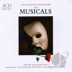 Greatest Songs From The Musicals CD Cover Art
