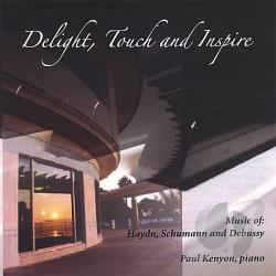 Kenyon, Paul - Delight, Touch and Inspire CD Cover Art