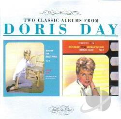 Day, Doris - Hooray For Hollywood Vol. 1 & 2 CD Cover Art