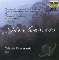 Kondonassis, Yolanda - Music Of Alan Hovhaness SA Cover Art