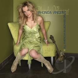 Vincent, Rhonda - All American Bluegrass Girl CD Cover Art