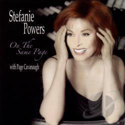 Powers, Stefanie - On the Same Page CD Cover Art
