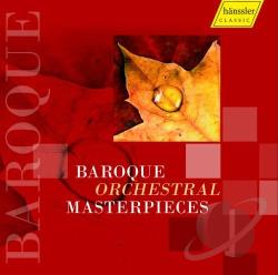 Baroque Orchestral Masterpieces - Baroque Orchestral Masterpieces CD Cover Art