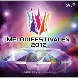 Melodifestivalen 2012 CD Cover Art