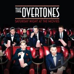 Overtones - Saturday Night at the Movies CD Cover Art