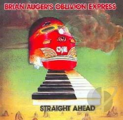 Brian Auger's Oblivion Express - Straight Ahead CD Cover Art